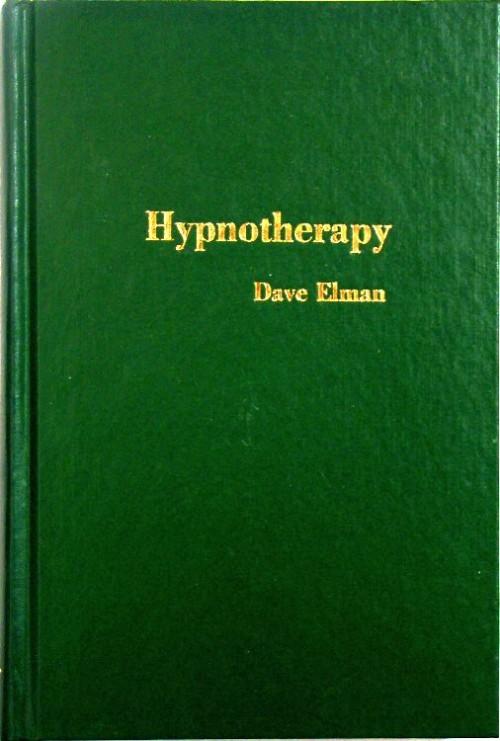 hypnotherapy book dave elman